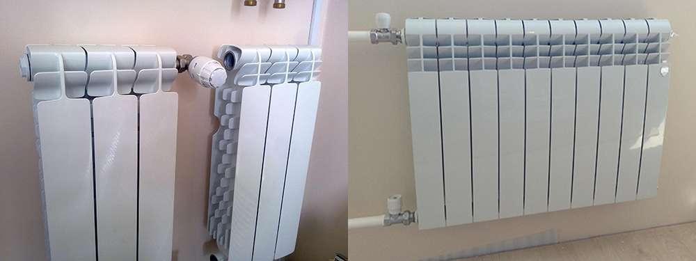 биметаллические радиаторы отопления фото 4