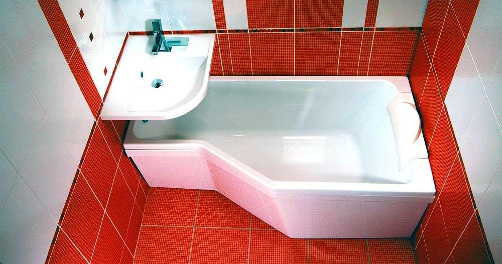 Удивительные формы ванн