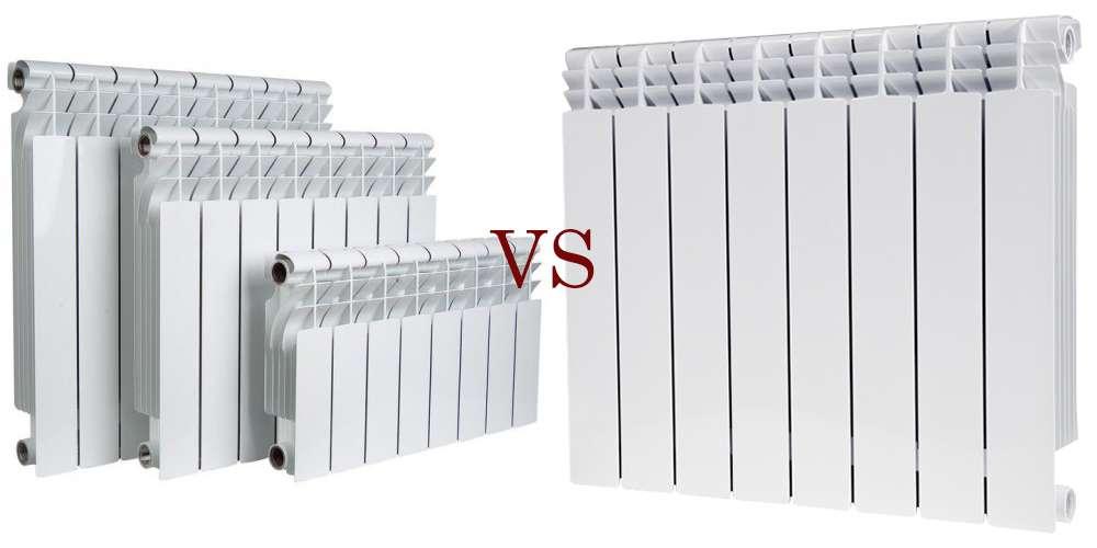 биметаллические и алюминиевые радиаторы. какие лучше? фото 1