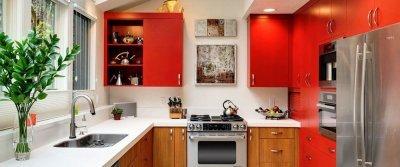 ТОП-10 идей обустройства маленькой кухни