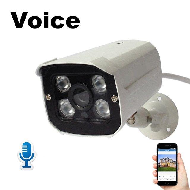 Камера наблюдения с микрофономDONPHIA