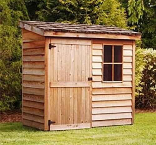 Как построить сарай на даче своими руками с фото