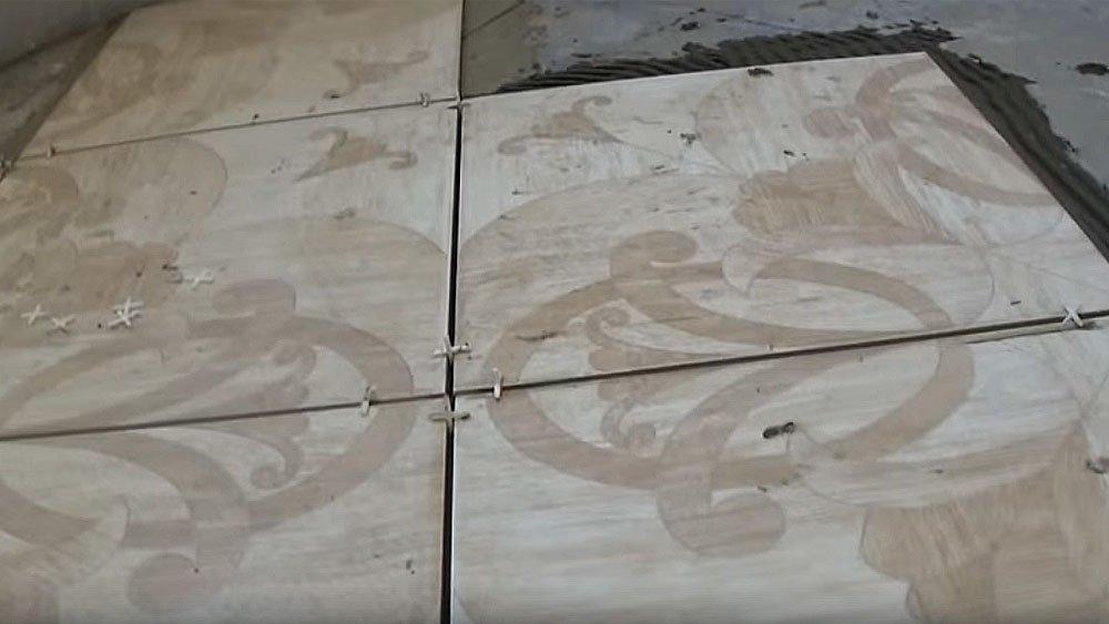 Вставка крестиков во швы