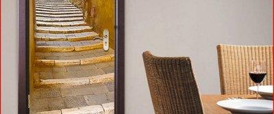 5 обалденных наклеек для декора дверей с AliExpress