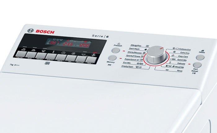 Bosch WOT 24457 BY (Словакия) - 2 место в рейтинге стиральных машин с вертикальной загрузкой