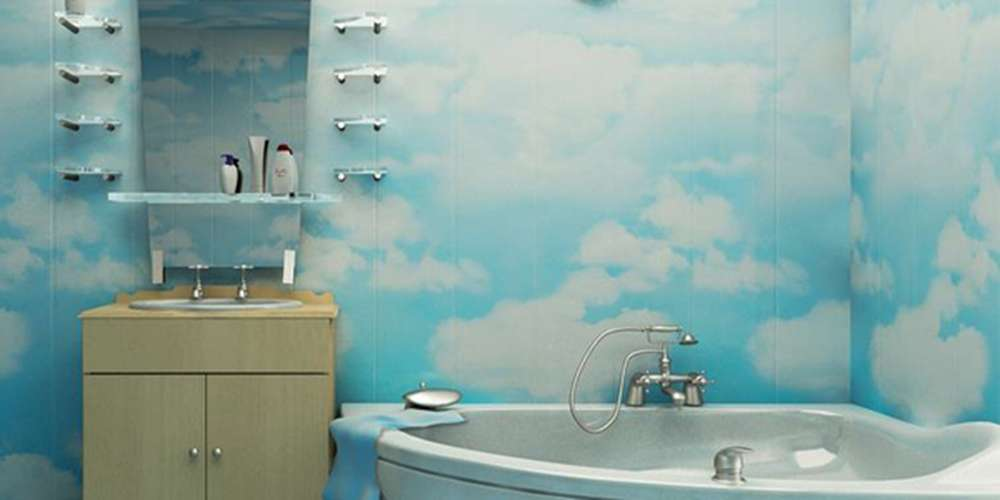 Чем отделать стены в ванной фото 3