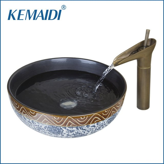 Раковина для ванной в ретро стилеKemaidi