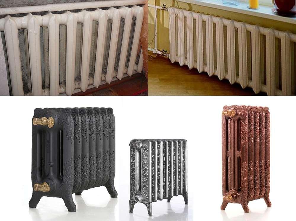 чугунные радиаторы отопления фото 3