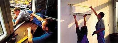 Монтаж внешнего и внутреннего блоков сплит-системы