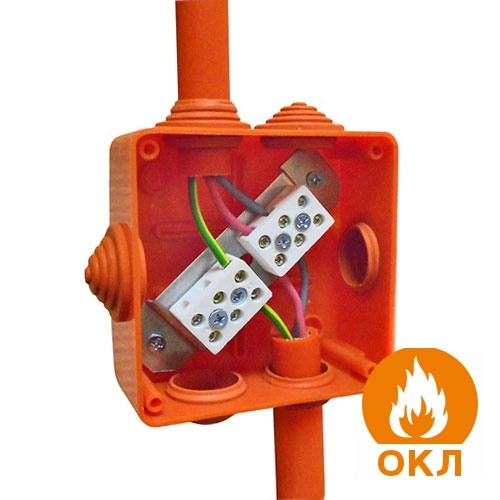 Огнестойкая кабельная линия (ОКЛ) - это кабель, канал и крепления