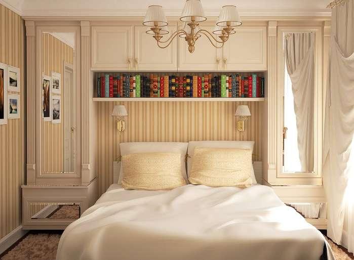 Гардеробные в маленькой спальне: ТОП-10 лучших идей фото 3