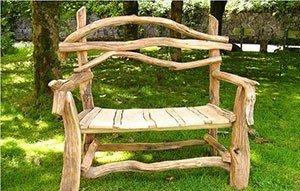 Скамейки для дачи своими руками фото 7