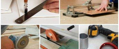 Как правильно резать керамическую плитку