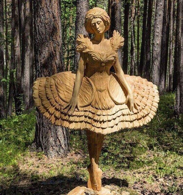 Скульптура Балерина. Продукция Графской гильдии мастеров