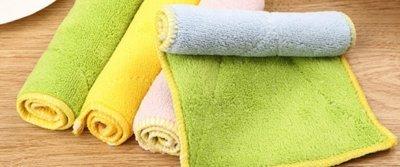 5 супермягких впитывающих тряпочек для уборки с AliExpress