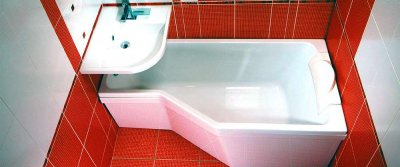 Виды и формы ванн