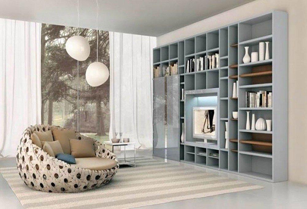 Мягкая мебель для гостиной: 10 идей интерьера фото 07-04