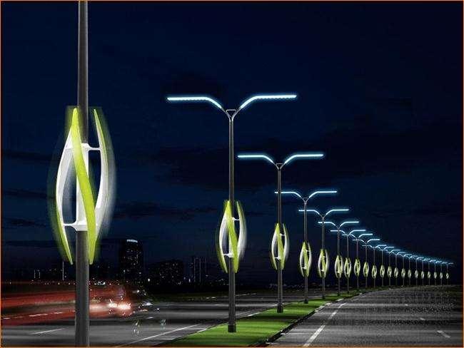 Типы уличного освещения