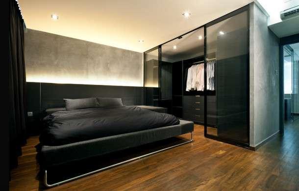 Гардеробные в маленькой спальне: ТОП-10 лучших идей фото 7