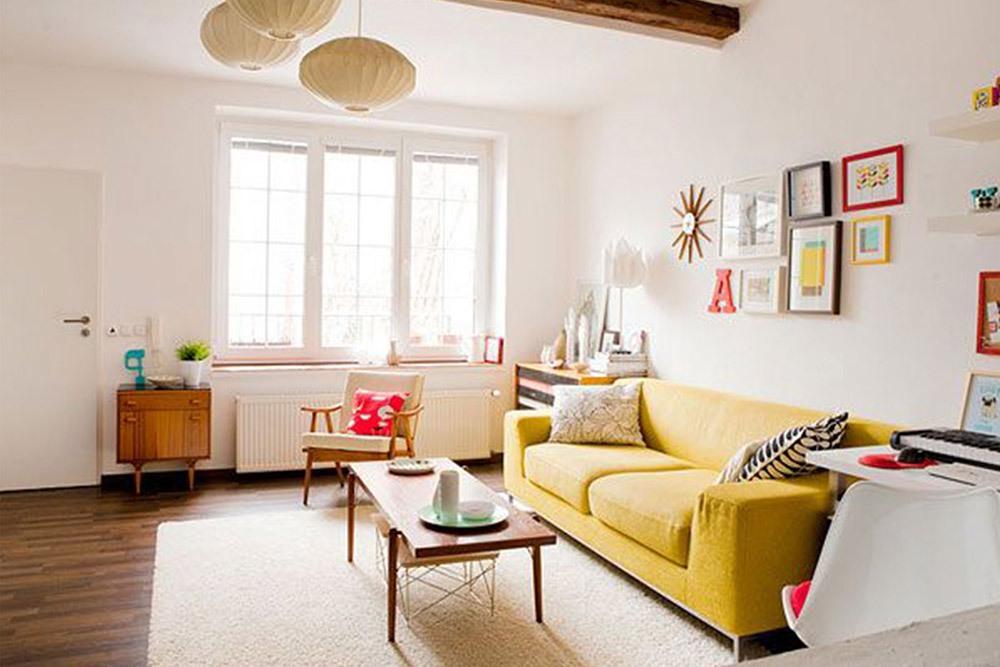 Мягкая мебель для гостиной: 10 идей интерьера
