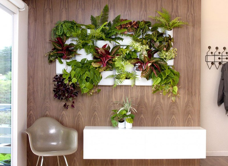 декор стен на кухне фото 27