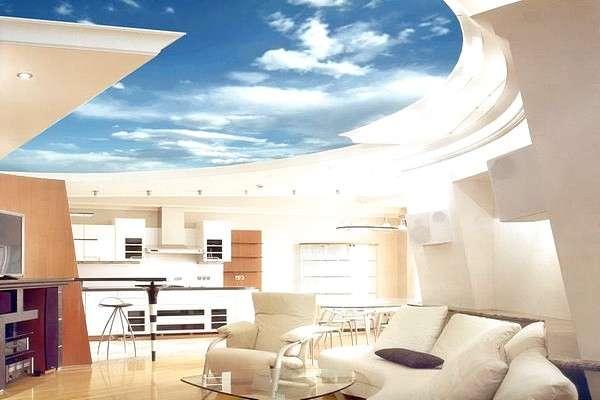 Какой выбрать потолок для дома