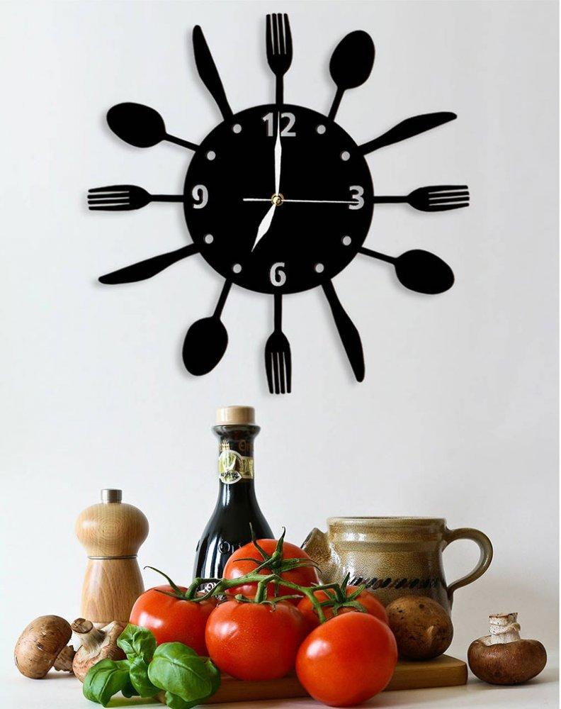 Часы в интерьере фото 14