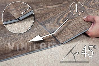 Как укладывать ПВХ плитку с клеевой смарт лентой