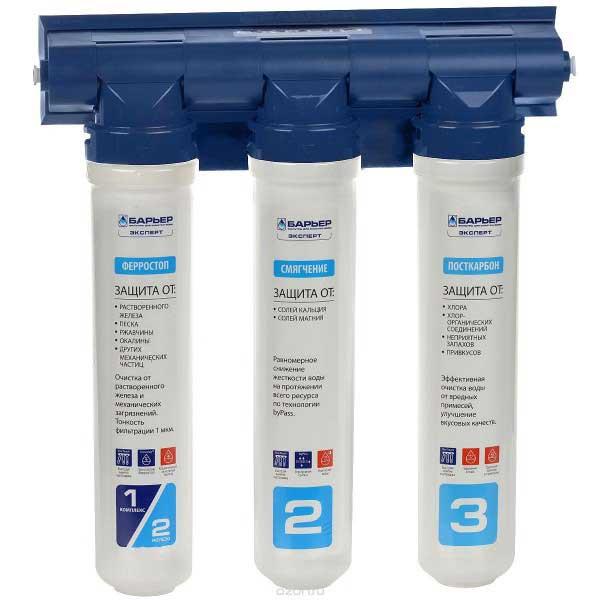 Рейтинг фильтров для воды под мойку - Барьер Expert Complex