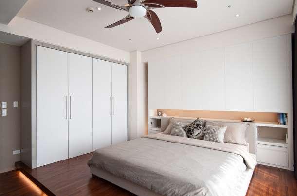 Гардеробные в маленькой спальне: ТОП-10 лучших идей фото 4