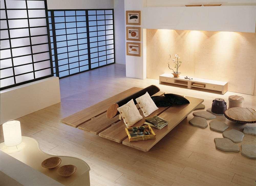 Японский стиль в интерьере фото 6