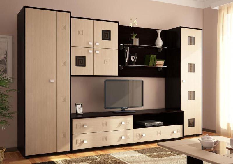Корпусная мебель для гостиной фото 1