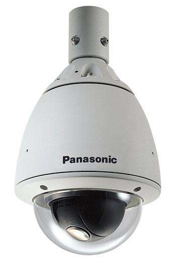 Современная высокоскоростная купольная видеокамера уличной установки Panasonic WV-CW860