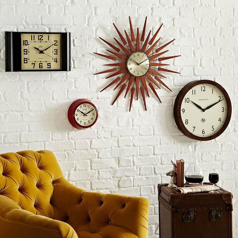 Часы в интерьере. Фотоидеи для интерьеров
