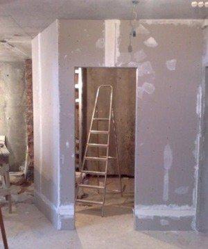 Как построить стену в квартире?