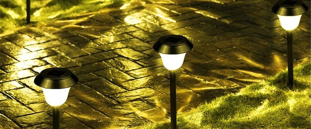 ТОП-5 ярких светильников для сада из AliExpress