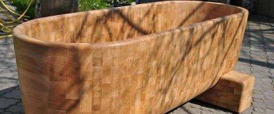 Деревянные ванны: оригинальность против практичности