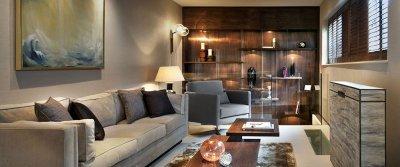 Дизайн узкой комнаты