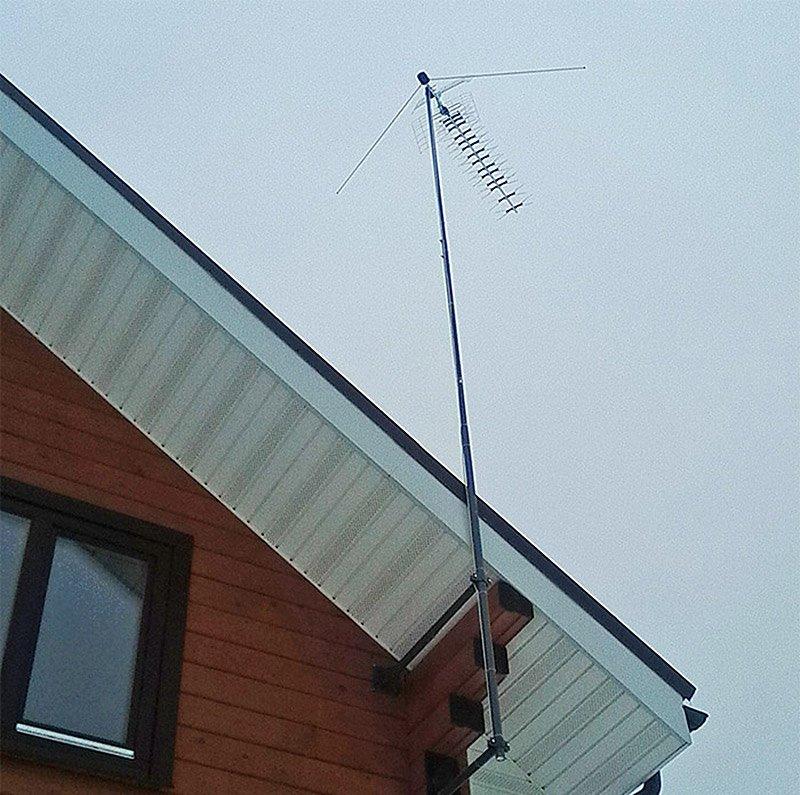 Антенна для телевидения на даче