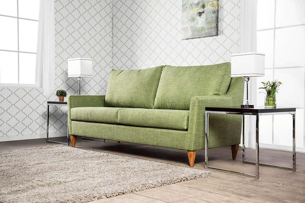 Зеленый диван в интерьере: 45+ фото идей, сочетания и примеры