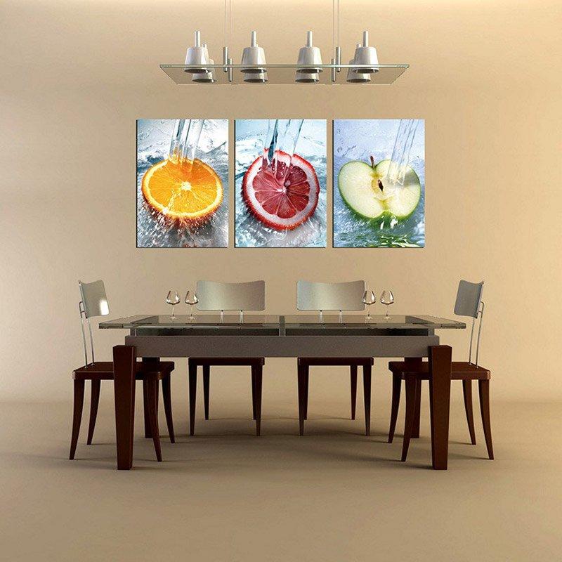 декор стен на кухне фото 15