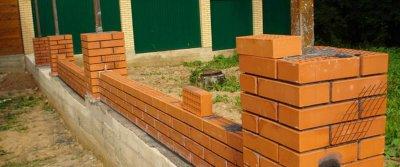 Строительство заборa
