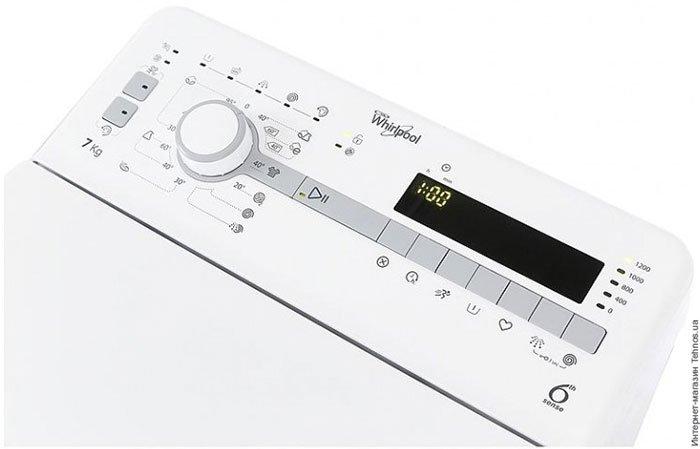 WhirlpoolTDLR 70210 - 4 место в рейтинге стиральных машин с вертикальной загрузкой