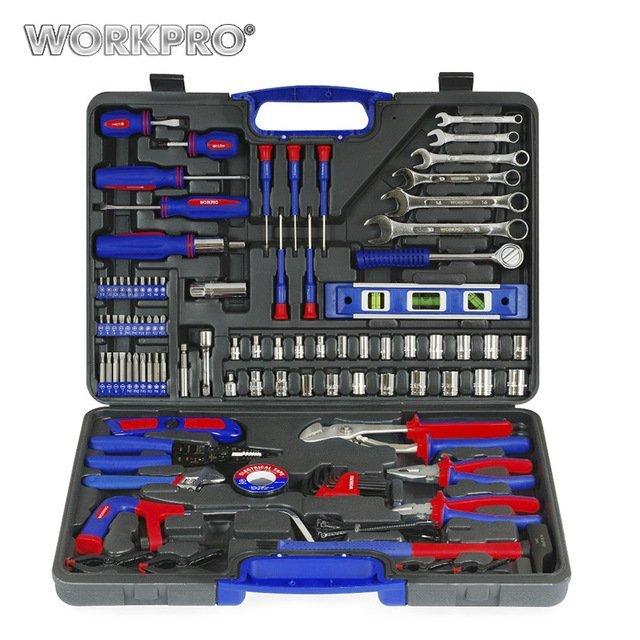 Полный набор инструментов (139 шт.)Workpro