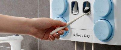 ТОП-5 самых функциональных держателей для зубных щеток с AliExpress
