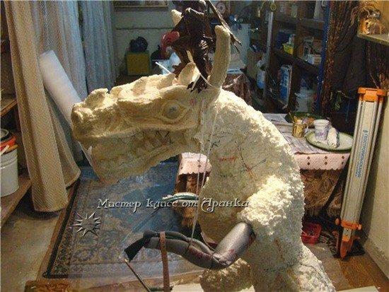 Скульптуры из монтажной пены своими руками мастер класс 52