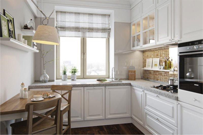 ТОП-10 идей для маленькой кухни фото 2