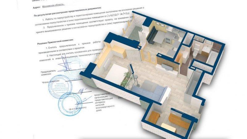 Помощь в согласовании перепланировки квартиры и нежилых помещений