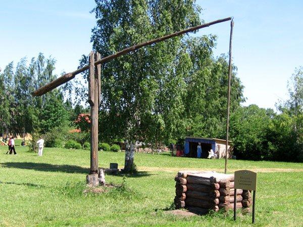Колодец-журавль