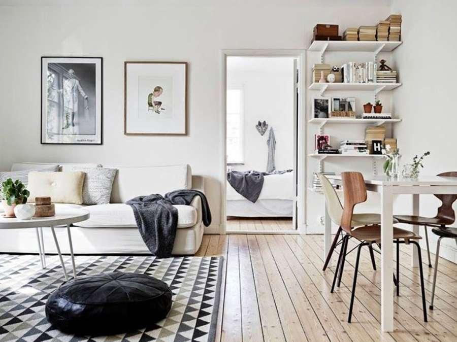 Традиционный интерьер в скандинавском стиле фото 3